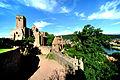 Die beeindruckende Ruine der Burg Wertheim am Main. 02.jpg