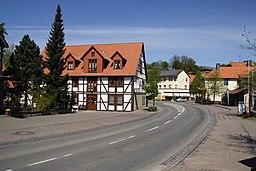 Hauptstraße in Diemelsee