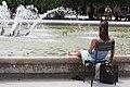 Dipping feet in the Fountain - Palais Royal (6019685994).jpg
