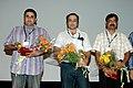 Director of the film 'Kaalchakra' Vishal Bhandari at the presentation on Nov 27,2007 at IFFI,Panaji, Goa.jpg