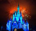 Disneyworld Cinderella Castle fireworks 2014.jpg