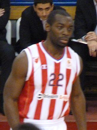Charles Jenkins (basketball) - Jenkins with Crvena zvezda in December 2013.