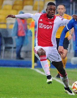 Riechedly Bazoer - Bazoer playing for Ajax.