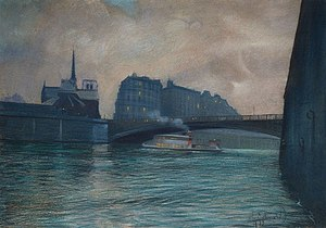 Odo Dobrowolski - Image: Dobrowolski Paris night 1912