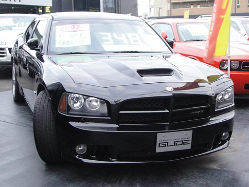 Dodge Charger SRT8 front Black
