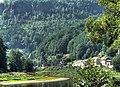 Dolní Žleb and the River Elbe - panoramio.jpg
