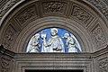 Domenico di jacopo da firenzuola, portale laterale della madonna della quercia, 1504-06, con lunetta di andrea della robbia (1508) 04 san domenico.jpg