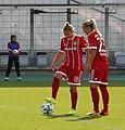 Dominika Škorvánková und Mandy Islacker BL FCB gg. 1. FC Koeln Muenchen-1.jpg