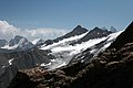 Donguz-Orun glacier and mountain of Main Caucasus ridge.jpg