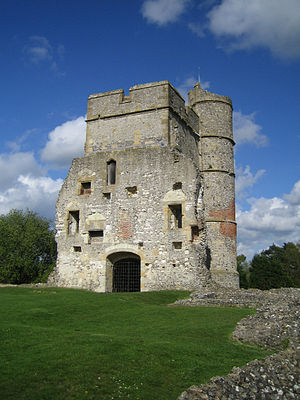 Donnington Castle - Ruins of Donnington Castle