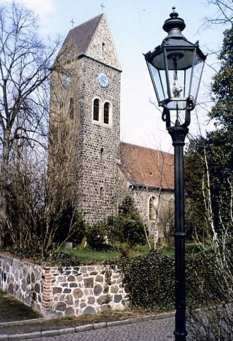 Lichtenrade - Image: Dorfkirche Lichtenrade