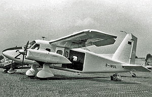 Dornier Do 28 - The second Dornier Do28D exhibited at the Paris Air Show in June 1967