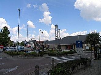 Sint-Katelijne-Waver - Image: Dorpsplaats Sint Katelijne Waver, kijkrichting noord west