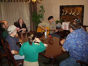 Filk music - Filking at ConClave 30
