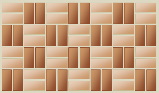 Double basket weave bond