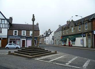 Doune - Village centre and mercat cross