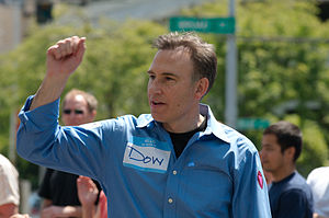 Dow Constantine - Image: Dow Constantine at Seattle Pride Fest 2009