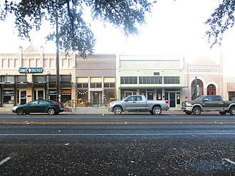 Canton, Texas - A glimpse of Canton across the street from the courthouse