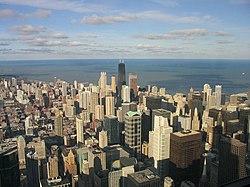 Chicago e il suo lago.