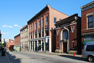 Downtown Norwich Historic District - Image: Downtown Norwich CT