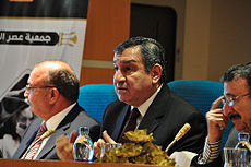 Newly appointed Egyptian prime minister Essam Sharaf on January 1, 2011. Image: Nabil Omar.