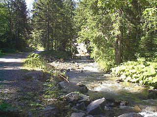 Dranse dAbondance river