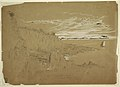 "Drawing, ""View on South West Head, Grand Manan Island, Bay of Fundy, Canada"", August 1851 (CH 18196053).jpg"