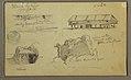 Drawing, Sketches, Ecuador or Colombia; Verso- Sketches, Ecuador or Colombia, 1857 (CH 18202621).jpg
