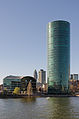 Dresdner Bank Tower with river Main - Frankfurt - Germany - 01.jpg