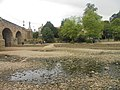 Dried up River Wharfe, Wetherby (9th July 2018) 005.jpg
