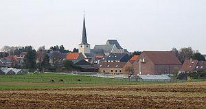 Duisburg, Tervuren - Image: Duisburg With Church