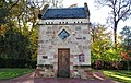 Dumfries Mains Dovecote, East Ayrshire. Front view.jpg