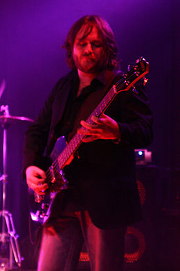 Duncan Patterson playing with Alternative 4 in 2011.