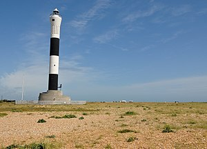 Dungeness Lighthouse - Image: Dungeness New Lighthouse 2