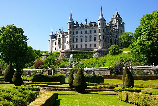 Dunrobin Castle -Sutherland -Scotland-26May2008