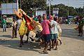 Durga Idol Immersion Procession - Baja Kadamtala Ghat - Kolkata 2012-10-24 1492.JPG