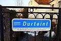 Durteint, Provins - Plaque on Boulevard Gilbert-Chomton.JPG