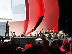 File:E3 2011 - Nintendo Media Event - Shigeru Miyamoto thanks the orchestra (5811354708).jpg