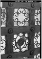 EAST GATE, DETAIL - Death Valley Ranch, Main House, Death Valley Junction, Inyo County, CA HABS CAL,14-DVNM,1-A-13.tif