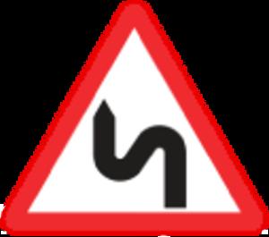 Road signs in Estonia - Image: EE traffic sign 144
