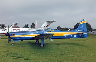 Embraer EMB 314 Super Tucano - This EMB-312H Prototype first flew on 9 September 1991, and currently is on display at the Memorial Aeroespacial Brasileiro in São José dos Campos.
