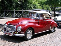 Auto Union 1000 Coupé dos 50