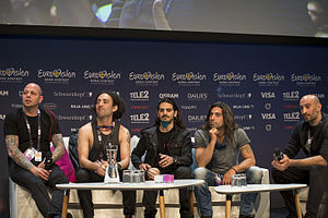 Minus One (band) - Image: ESC2016 Cyprus Meet & Greet 25