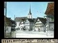 ETH-BIB-Menzingen, Dorfplatz von Südost-Dia 247-14323.tif