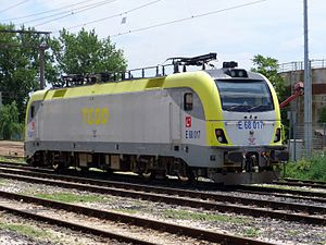 TCDD E68000 - TCDD E68017 at Alpullu