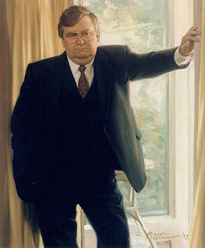 Lawrence Eagleburger - Painted portrait of Eagleburger