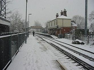 Earley - Earley railway station