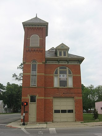 National Register of Historic Places listings in Defiance County, Ohio - Image: East Side Fire Station in Defiance