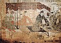 Eastern han husband and wife banquet mural BM2 Zhucun Luoyang 洛阳朱村东汉墓BM2夫妇宴饮图.jpg