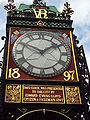 Eastgate clock, Chester.JPG